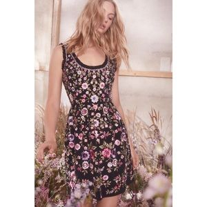 Needle & Thread Floral Romance mini dress size 2